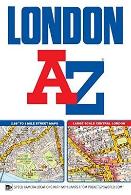 London Street Atlas by Geographers' A-Z Map Co Ltd Paperback BRAND NEW