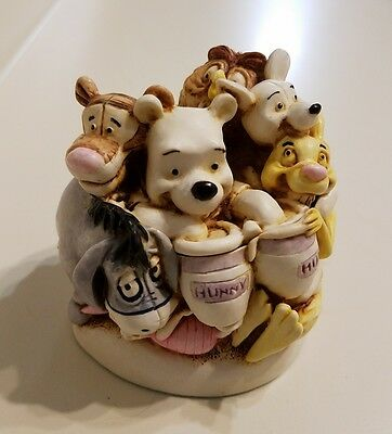 Harmony Kingdom Art Of Disney Pooh And Friends Made In England