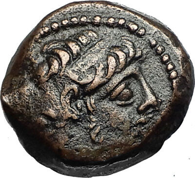 ANTICHOS IX Kyzikenos Authentic Ancient Seleukid Greek Coin Thunderbolt i67649