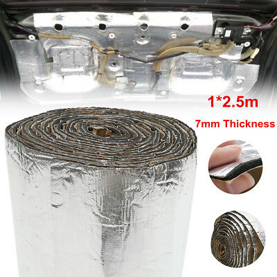 98''x39'' 7mm Sound Deadener Car Heat Shield Insulation Deadening Material Mat
