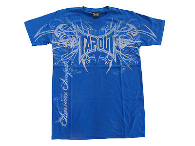"""TapouT /""""MARTIAL LAW/"""" T shirt NEW Skull Snake RAW POWER MEDIUM LARGE XXL UFC Tee"""