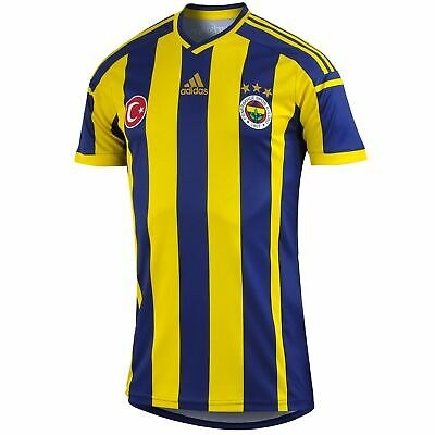 adidas Men's 2014-15 Fenerbache Replica Home Football Jersey Blue & Yellow