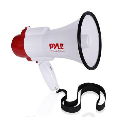 Pyle PMP39VC 30 Watt Megaphone Indoor Outdoor PA Bull horn Built-in Siren Single
