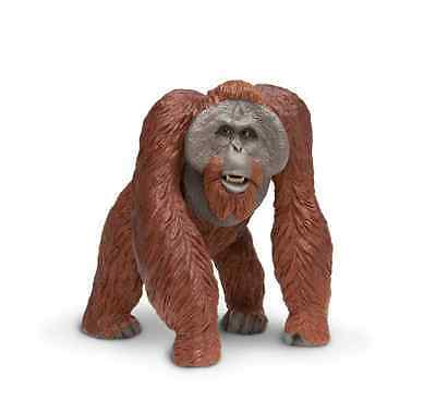 Large BORNEAN ORANGUTAN Replica #112289 ~ FREE SHIP/USA w/$25+Safari Products