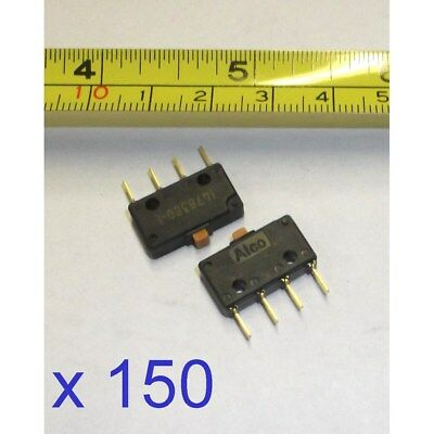 150 x Sealed Double Break Button Micro Switch TE Connectivity 1478380-01 Q1AA#