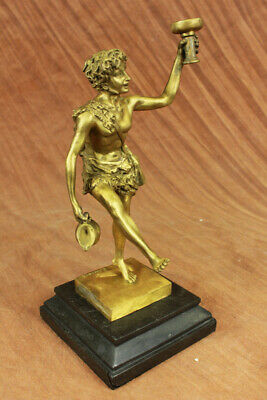 CLEARANCE SALE Mythical Gilt Bronze Sculpture Museum Quality Figure