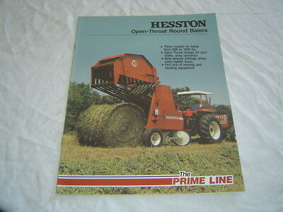NEW HESSTON 5540 Round Baler Parts Manual - $30 99 | PicClick