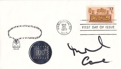 Michael Caine Movie Actor Rare Signed First Day Cover Coa