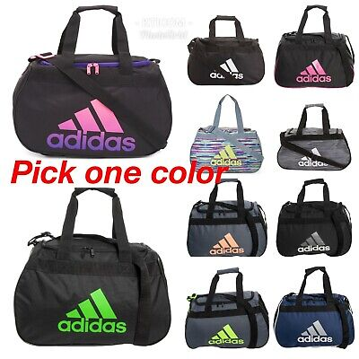bb245cae72 NWT ADIDAS DIABLO Small Duffel Gym Bag Travel Bag --Pick Color ...