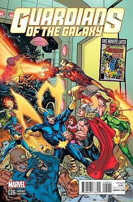 GUARDIANS OF THE GALAXY #26, AVENGERS VARIANT, Marvel Comics (2015)
