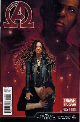 NEW AVENGERS #22, AGENTS OF SHIELD VARIANT, New, Marvel Comics (2014)