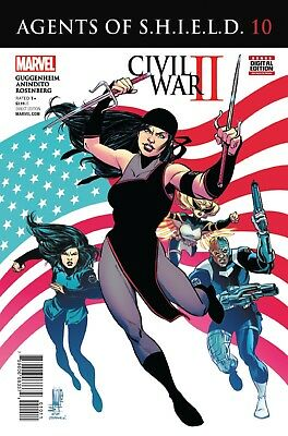 AGENTS OF SHIELD #10, New, First print, Marvel Comics (2016)