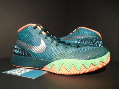 best sneakers 955ca f035f Nike Kyrie 1 Venus Fly Trap Emerald Green Orange Silver What The 705277-313  8