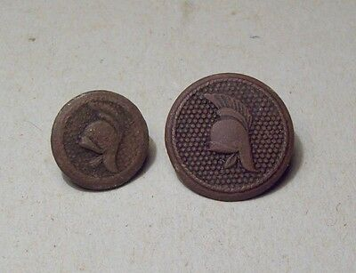 Dug 2 Dutch army uniform buttons 1800's metal detecting finds