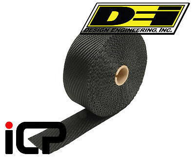 "DEI Black Titanium Heat Exhaust Wrap 2""x15FT Roll"