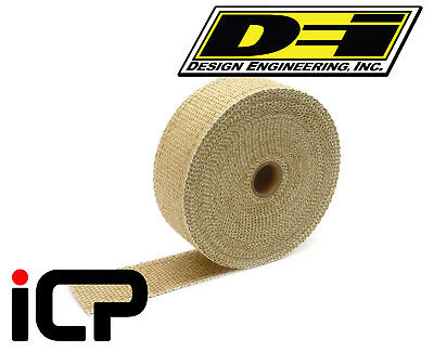 "DEI Tan Glass Fiber Heat Exhaust Wrap 2""x50FT Roll"