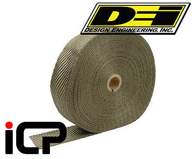 "DEI Titanium Heat Exhaust Wrap 2""x100FT Roll"