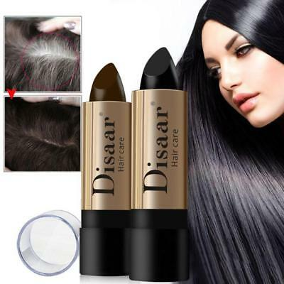 US Hair Color Pen Hair Stick Lasting Fast Temporary Hair Dye To Cover White 10g
