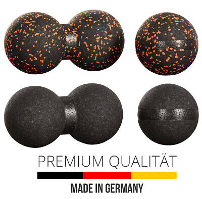 2er Original Massageball Set 8cm Twinball Faszienball Faszienkugel Doppelball