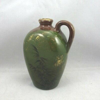 Antique Early 1880s Rookwood Art Pottery Small Decorative Jug Japanesque Design