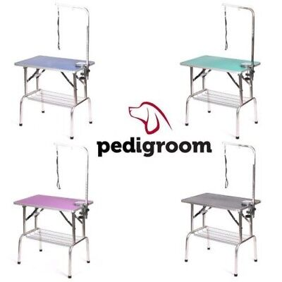 Toilette de Chien Table avec Bras par Pedigroom Mobile Portable Professionnel