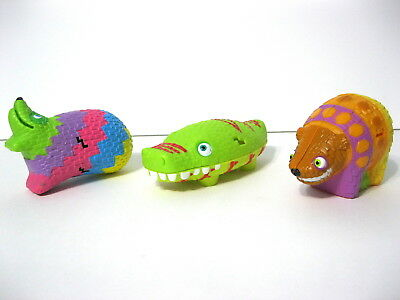 Viva Pinata Easter Basket Candy Animal Alligator Party Cup Cake Topper Meal Toys