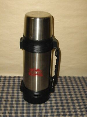 UNUSED Thermos Brand 1 Litre Thermos  #5153977 Folgers With Cafe Latte On Side