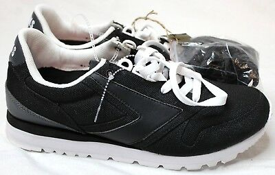 ce090bba92cfe Brooks Chariot Men s Black White Suede Mesh Athletic Shoes 1101781D028 Size  7