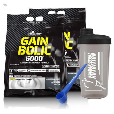 Dimensions Gainer Olimp gain Bolic 6000 2 x 1Kg Weight with Whey Protein 2 KG