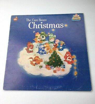 The Care Bears Christmas Vintage Record Vinyl Kid Stuff Records KSS5040