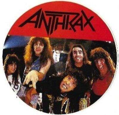 Anthrax Sticker / Decal, Heavy Metal Band, Vintage Rock Sticker, New and Unused