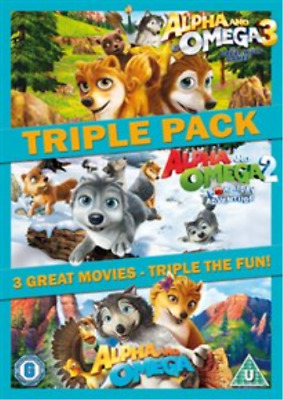Alpha and Omega 1-3  DVD NEW