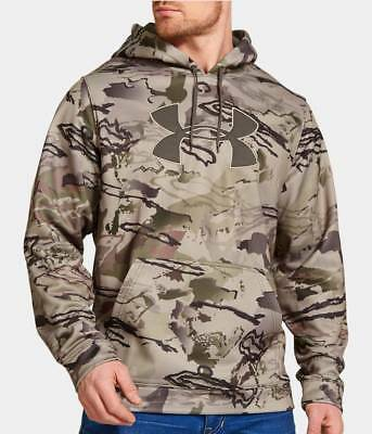 New With Tags Men's Under Armour Hunting Camo Hoodie Hooded Sweatshirt