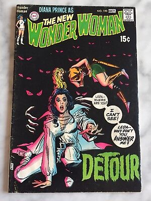 Wonder Woman #190 (Sep-Oct 1970, DC) ~VG+