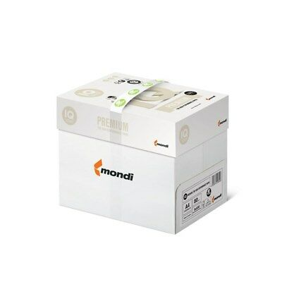 80g//qm 515034 5 Packungen à 500 Blatt = 2500 Bl Mondi IQ selection smooth A 4