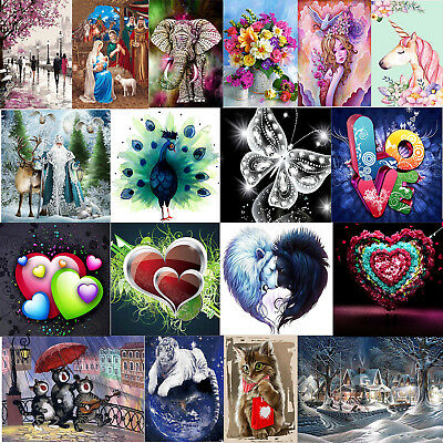 5D DIY Diamond Painting Embroidery Cross Stitch Kit Handicrafts Mosaic Home Art