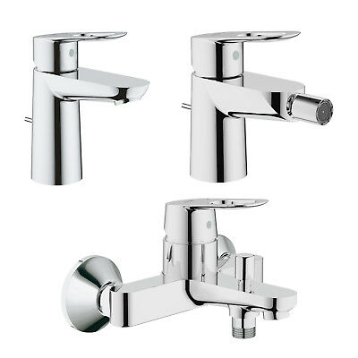 set rubinetteria grohe startedge miscelatori lavabo bidet con piletta di scarico eur 118 00. Black Bedroom Furniture Sets. Home Design Ideas