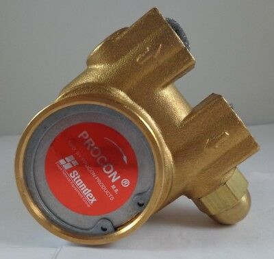 Procon 112A100F11AA Rotary Vane Brass Water Pump 15-140 GPH 250 Max PSI