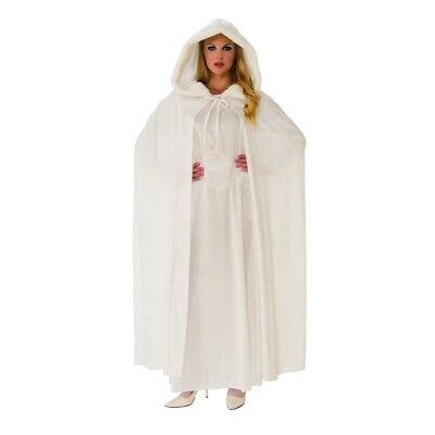 Wintry White Cape - Adult Costume