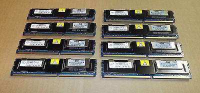 8x 4Gb (32Gb )  PC2-5300F Nanya 2Rx4 server memory Fully buffered