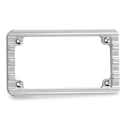 Arlen Ness License Plate Frame 10-Gauge Chrome 12-135