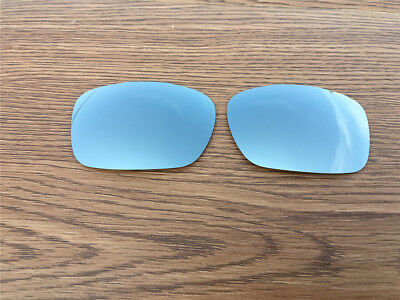 Silver titanium Polarized Replacement lenses for Oakley Two Face