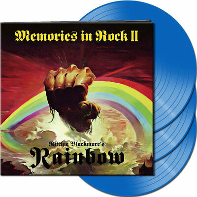 "Ritchie Blackmore's Rainbow - Memories In Rock II (NEW 3 x 12"" BLUE VINYL LP)"