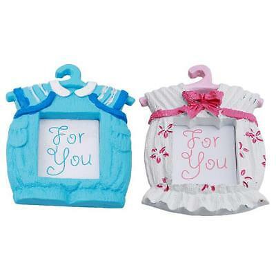 Cute Baby Themed Photo Frame Baby Shower Favors Girl Boy Pink Blue D