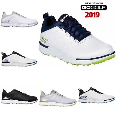 Skechers 2018 Go Elite V.3 Spikeless Leather Waterproof Golf Shoes Model 54523