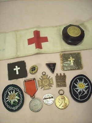 WWI & WWII Rare German Collectibles~Pins, Medals, & Patches~