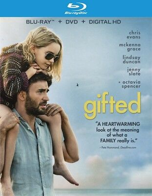 Gifted (Blu-ray Disc ONLY, 2017)