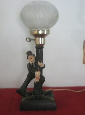 Vintage bar light drunk hobo on lamp post vintage 17 tall vintage bar light drunk hobo on lamp post vintage 17 aloadofball Image collections