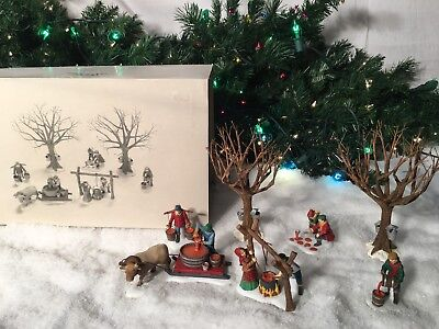 New Department 56 Heritage Village Series Tapping The Maples #56599 Accessories