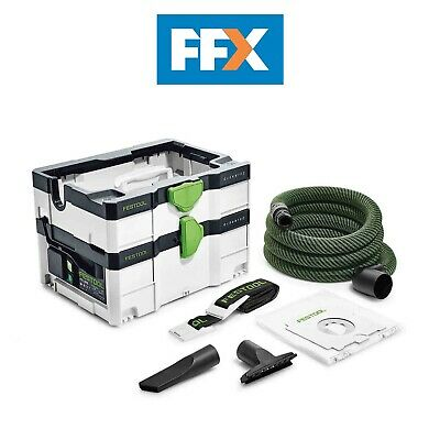 Festool 575284 240v Cleantec 4.5L Systainer Dust Extractor